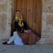 Καπλαμάς, παραδοσιακή φορεσιά, Μέγαρα